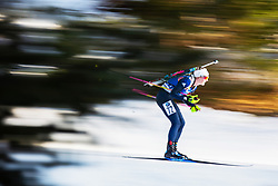 Amanda Lightfoot (GBR) during the Women 15 km Individual Competition at day 2 of IBU Biathlon World Cup 2019/20 Pokljuka, on January 23, 2020 in Rudno polje, Pokljuka, Pokljuka, Slovenia. Photo by Peter Podobnik / Sportida