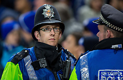 Police during football match between Chelsea FC and NK Maribor, SLO in Group G of Group Stage of UEFA Champions League 2014/15, on October 21, 2014 in Stamford Bridge Stadium, London, Great Britain. Photo by Vid Ponikvar / Sportida.com