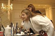 Cleo Pakenham. Eleventh Crillon Haute Couture Ball, Crillon. Paris.   31 November 2001 © Copyright Photograph by Dafydd Jones 66 Stockwell Park Rd. London SW9 0DA Tel 020 7733 0108 www.dafjones.com
