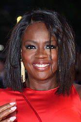 Viola Davis arriving for the 62nd BFI London Film Festival Opening Night Gala screening of Widows held at Odeon Leicester Square, London.