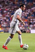 Real Madrid's player Gareth Bale during the XXXVII Santiago Bernabeu Trophy in Madrid. August 16, Spain. 2016. (ALTERPHOTOS/BorjaB.Hojas)