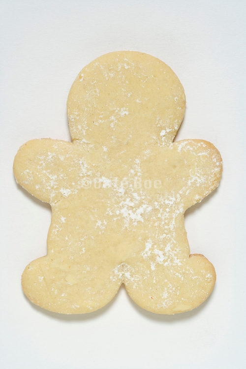 cookie in the form of a human