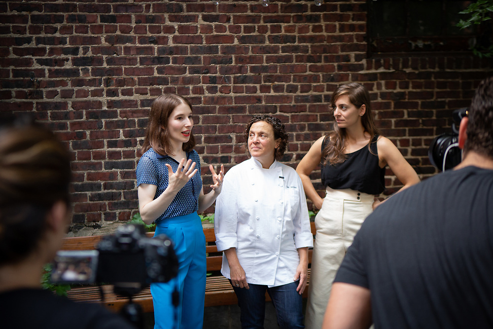 The kick-off event for the James Beard Foundation's Taste America®'s 10-city national event, held August 1, 2018 at the James Beard House in New York City. <br /> <br /> CREDIT: Clay Williams for The James Beard Foundation.<br /> <br /> © Clay Williams / http://claywilliamsphoto.com