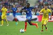 France Midfielder Blaise Matuidi during the Group A Euro 2016 match between France and Romania at the Stade de France, Saint-Denis, Paris, France on 10 June 2016. Photo by Phil Duncan.