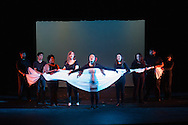 """Middletown, New York - The Apprentice Players of the SUNY Orange Arts and Communications Department peform the play """"Social Prescriptions"""" at Orange Hall Theatre on April 16, 2015."""