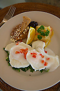 Poached egges, Punta Serena Villas and Spa, Costalegre, Jalisco, Mexico