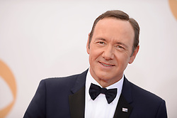 Kevin Spacey arrives at the 65th Annual Primetime Emmy Awards held at Nokia Theatre L.A. Live in Los Angeles, CA, USA, on September 22, 2013. Photo by Lionel Hahn/ABACAPRESS.COM