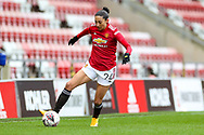 Manchester United forward Christian Press (24) during the FA Women's Super League match between Manchester United Women and Reading LFC at Leigh Sports Village, Leigh, United Kingdom on 7 February 2021.