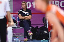 09-01-2016 TUR: European Olympic Qualification Tournament Rusland - Nederland, Ankara<br /> De Nederlandse volleybalsters hebben de finale van het olympisch kwalificatietoernooi tegen Rusland verloren. Oranje boog met 3-1 voor de Europees kampioen (25-21, 22-25, 25-19, 25-20) / Ingrid Paul