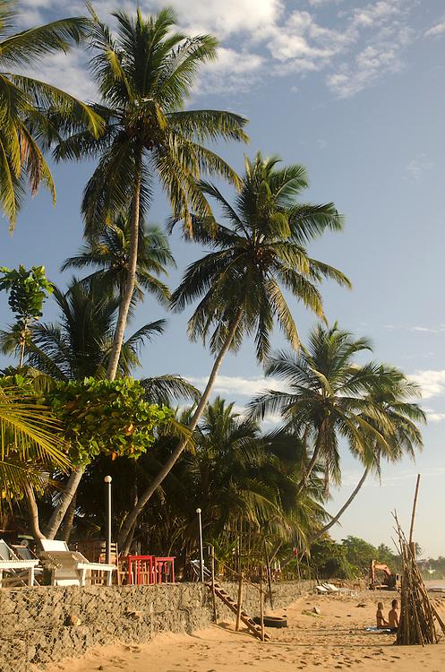 Early morning on Tangalle beach, Sri Lanka