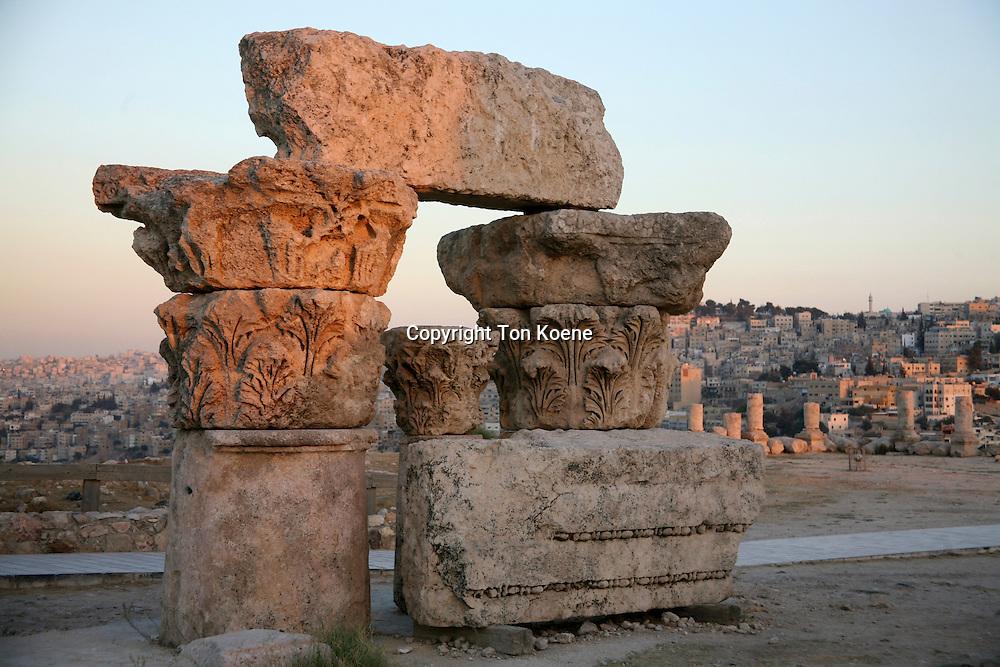 Restoration of the ancient Umayyad palace in Amman.