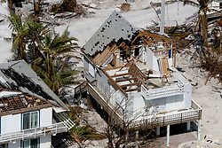 September 14, 2017 - Duck Key, Florida, U.S. - A house that was destroyed after Hurricane Irma hit the Florida Keys.  (Credit Image: © Sun-Sentinel via ZUMA Wire)