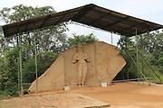 UNESCO World Heritage Site, the ancient city of Polonnaruwa, Sri Lanka, Asia -  Parakramabahu Statue site