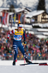 February 21, 2019 - Seefeld In Tirol, AUSTRIA - 190221 Jessica Diggins of USA competes in women's cross-country skiing sprint qualification during the FIS Nordic World Ski Championships on February 21, 2019 in Seefeld in Tirol..Photo: Joel Marklund / BILDBYRN / kod JM / 87879 (Credit Image: © Joel Marklund/Bildbyran via ZUMA Press)