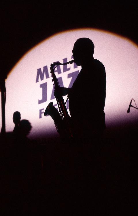 Sonny Fortune (Elvin Jones Jazz Machine), 1991<br /> Photo by Darrin Zammit Lupi