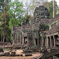 """The locations of the fascinating buddhist complex of Ta Prohm were also shown in the movie """"Tomb Raider""""."""