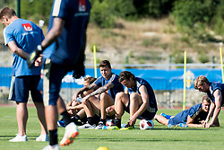 July 4, 2018 - Gelendzhik, Russia - 180704 Victor Nilsson Lindelöf of the Swedish national football team at a practice session during the FIFA World Cup on July 4, 2018 in Gelendzhik..Photo: Petter Arvidson / BILDBYRÃ…N / kod PA / 92081 (Credit Image: © Petter Arvidson/Bildbyran via ZUMA Press)