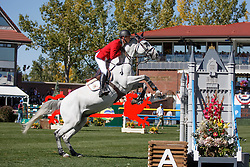 Guery Jerome, (BEL), Papillon Z<br /> BMO Nations Cup<br /> Spruce Meadows Masters - Calgary 2015<br /> © Hippo Foto - Dirk Caremans<br /> 12/09/15
