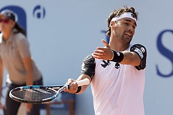 July 29, 2017 - Gstaad, Schweiz - 29.07.2016, Gstaad, Tennis, Swiss Open Gstaad 2017, Fabio Fognini (ITA) regt sich auf  (Credit Image: © Pascal Muller/EQ Images via ZUMA Press)