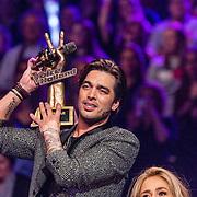 NLD/Hilversum//20170218 - Finale The Voice of Holland 2017, winnende coach Waylon