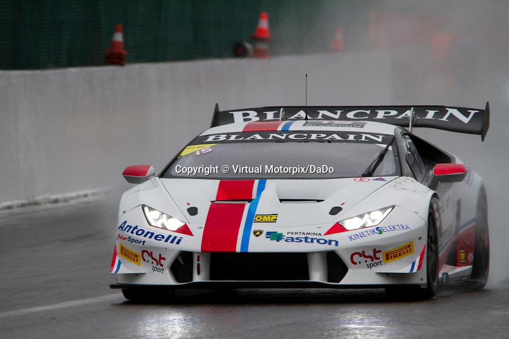#15, Lamborghini Huracán, Antonelli Motorsport(ANT), L.Spinelli/M.Moscato , Lamborghini BlancPain Super Trofeo 2015