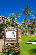 Cafe Portofino Restaurant at the Kauai Marriott Resort, Island of Kauai, Hawaii