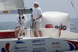 Peter Gilmour. Portimao Portugal Match Cup 2010. World Match Racing Tour. Portimao, Portugal. 27 June 2010. Photo: Gareth Cooke/Subzero Images