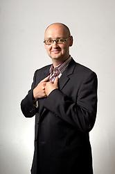 MECHELEN, BELGIUM - MAY-10-2006 - Hendrik Deckers is a specialist in business networking. (PHOTO © JOCK FISTICK)