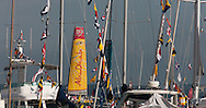 The Artemis Challenge at Aberdeen Asset Management Cowes Week 2014. <br /> Abu Dhabi<br /> FREE for editorial use. Credit: Lloyd Images