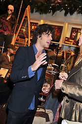 JACKSON SCOTT at a party hosted by TLC to celebrate signing their 5000th member and Ralph Lauren to celebrate the opening of the first Ralph Lauren Rugby store in the UK at 43 King Street, Covent Garden, London on 30th November 2011.