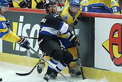 20.04.2016, Dom Sportova, Zagreb, CRO, IIHF WM, Ukraine vs Estland, Division I, Gruppe B, im Bild Dmytro Chernyshenko // during the 2016 IIHF Ice Hockey World Championship, Division I, Group B, match between Ukraine and Estonia at the Dom Sportova in Zagreb, Croatia on 2016/04/20. EXPA Pictures © 2016, PhotoCredit: EXPA/ Pixsell/ Goran Stanzl<br /> <br /> *****ATTENTION - for AUT, SLO, SUI, SWE, ITA, FRA only*****