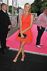 TESS DALY at the F1 Party in aid of Great Ormond Street Hospital Children's Charity held at Battersea Evolution, Battersea Park, London on 4th July 2012.