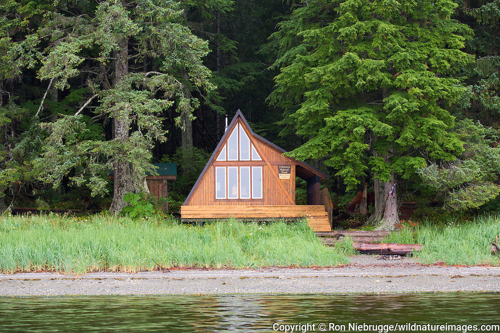 West Point Cabin, Tongass National Forest, Alaska.