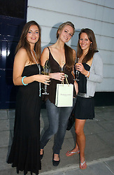 Left to right, LADY NATASHA RUFUS-ISAACS, BRYONY DANILES and KATHERINE ACLAND at a party to celebrate the re-launh of Penhaligon's at 132 Kings Road, London SW3 on 7th June 2006.<br /><br />NON EXCLUSIVE - WORLD RIGHTS