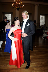 CHASE REID and BELLA SOKOL at the 13th annual Russian Summer Ball held at the Banqueting House, Whitehall, London on 14th June 2008.<br />