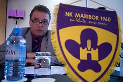 Bojan Ban of NK Maribor at Management conference of Slovenian Football Federation, on March 10, 2009, in Hotel Kokra, Brdo pri Kranju, Slovenia. (Photo by Vid Ponikvar / Sportida)