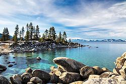 Sand Harbor at Lake Tahoe.