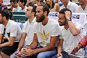 DESCRIZIONE : Campionato 2014/15 Serie A Beko Dinamo Banco di Sardegna Sassari - Grissin Bon Reggio Emilia Finale Playoff Gara6<br /> GIOCATORE : Luigi DaTome<br /> CATEGORIA : Tifosi Pubblico Spettatori VIP<br /> EVENTO : LegaBasket Serie A Beko 2014/2015<br /> GARA : Dinamo Banco di Sardegna Sassari - Grissin Bon Reggio Emilia Finale Playoff Gara6<br /> DATA : 24/06/2015<br /> SPORT : Pallacanestro <br /> AUTORE : Agenzia Ciamillo-Castoria/C.Atzori