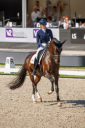 Maree Gerdine, NED, Holiday<br /> Nederlands Kampioenschap dressuur<br /> Ermelo 2020<br /> © Hippo Foto - Sharon Vandeput<br /> 20/09/2020