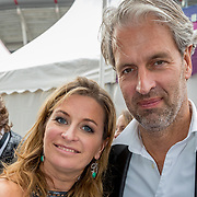 NLD/Amsterdam/20180616 - 26ste AmsterdamDiner 2018, Sacha de Boer en broer Marc