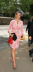 LADY LOUISE FITZROY at the wedding of Hugh van Cutsem to Rose Astor in Burford, Oxfordshire on 4th June 2005.<br /><br />NON EXCLUSIVE - WORLD RIGHTS