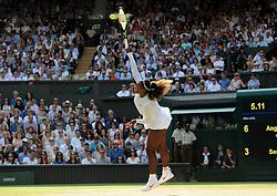 July 14, 2018 - Angleterre - Wimbledon - Serena Williams USA (Credit Image: © Panoramic via ZUMA Press)