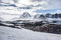 Petermann Island views, Antarctica.