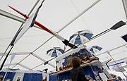 Henley, GREAT BRITAIN,  Hats at Henley, Stewards Enclosure. 2010 Henley Royal Regatta. Rowing Courses, Henley Reach, Henley, ENGLAND<br /> <br /> Friday  02/07/2010<br /> © Peter SPURRIER<br /> <br /> NIKON CORPORATION  NIKON D3  f9  1/60sec  14mm  3.7MB