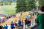 Overview of the Mons Royale Dual Speed and Style at the inaugural Crankworx Rotorua event held at Skyline Rotorua, Rotorua, New Zealand, March 25-29, 2015.
