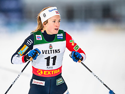 November 24, 2018 - Ruka, FINLAND - 181124 Anna Svendsen of Norway after competing in a women's sprint classic technique quarterfinal during the FIS Cross-Country World Cup premiere on November 24, 2018 in Ruka  (Credit Image: © Carl Sandin/Bildbyran via ZUMA Press)