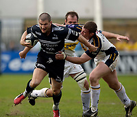 Photo: Jed Wee.<br />Newcastle Falcons v Leeds Tykes. Guinness Premiership. 06/05/2006.<br /><br />Newcastle's Tom May breaks.