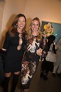 Heather Kerzner; Hayley Sieff , George Condo - private view . Simon Lee Gallery, 12 Berkeley Street, London, 10 February 2014
