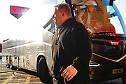 John Yems arrives before the EFL Sky Bet League 2 match between Walsall and Crawley Town at the Banks's Stadium, Walsall, England on 18 January 2020.