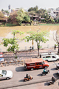 View from Warorot Market (Kad Luang) over Ping River